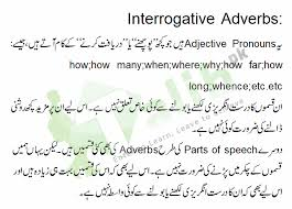adverb relative adverb interrogative adverb definition examples