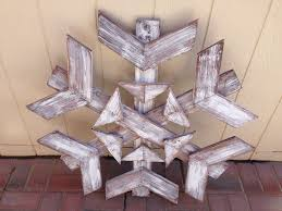 ana white snowflake diy projects