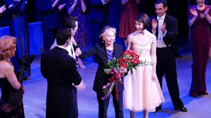 leslie caron bows at an american in paris on broadway youtube