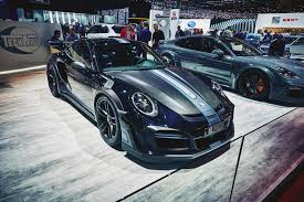 2017 porsche 911 turbo gt street r techart wallpapers женева 2017 2017 techart porsche 911 turbo s gtstreet r autoblog