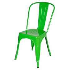 Tolix Bistro Chair Tolix Style Green Galvanized Marais Bistro Cafe Chair Industrial