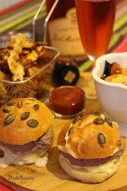 cuisine automne burger d autruche et frites de légumes d automne concours