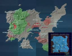 map size comparison just how big the continents are archive planetside universe
