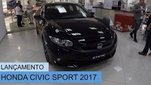 honda civic 2 0 manual lançamento honda civic 2 0 sport 2017 manual