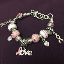themed charm bracelet pink themed charm bracelet crowdaroundstore