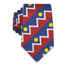 Flag Of Denver Denver Flag Necktie Knotty Tie Co