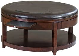large round leather ottoman best of large round leather ottoman coffee table coffe table
