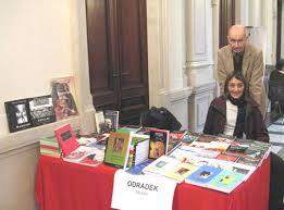 Anna Rocco e Felice Accame a Chiari, 15 novembre 2009. Comprereste un libro da quei due? - Chiari-IN-DUE
