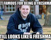 Unh Meme - guy in college freshman meme now stars in a new college senior