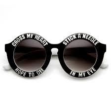 oversize large fashion sunglasses tagged