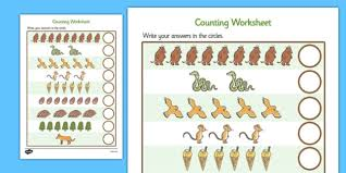 the gruffalo counting sheet the gruffalo one to one 1 1