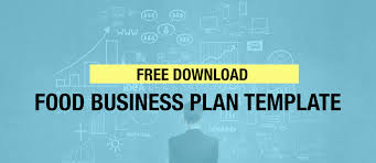 quick u0026 easy food business plan template free download gredio