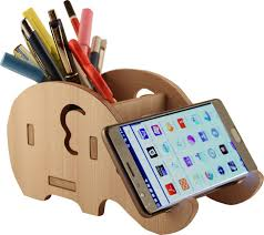 flipkart com 7cr 1 compartments wooden pen with mobile stand