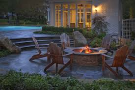 backyard landscaping with pit pit patio designs new backyard landscaping information