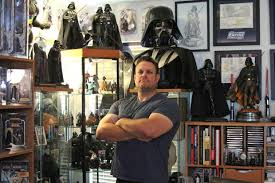 what to get a star wars fan american star wars superfan has world s largest darth vader hoard
