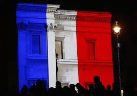 The France Flag Est100 一些攝影 Some Photos National Tribute To Paris Attack