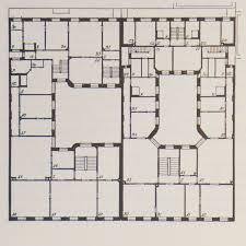Floor Plan Of Apartment Plans Of Early Apartment Buildings U2014 Danish Design Review