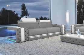 sofa mit led beleuchtung 2 sitzer imperial stoffsofa nativo möbel onlineshop deutschland