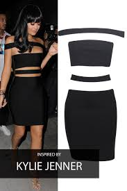 black dress uk jenner black bandage dress my dress