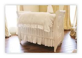 Baby Crib Bed Skirt Bébé Papillon European Styled Baby Linens Bedding Crib Bed