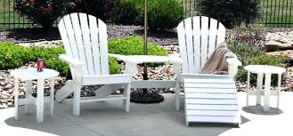 plastic adirondack chairs with ottoman plastic adirondack chairs with ottoman seaside recycled chair joined