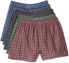 fruit of the loom s exposed waistband woven fashion boxers