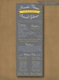 Modern Wedding Program Custom Wedding Programs Elegant And Tall Wedding Stationery