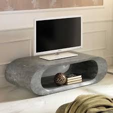 Hifi Wohnzimmer Design Tv Board Aus Stein Oval Jetzt Bestellen Unter Https Moebel