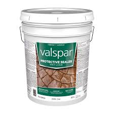Wet Look Patio Sealer Reviews Shop Valspar Clear Wet Look Sealer Gloss Waterproofer Actual Net