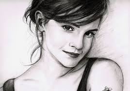 emma watson sketch by rayjaurigue on deviantart