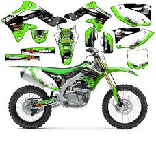 amazon com team racing graphics kit for all years kawasaki kx 65