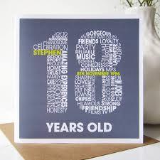 personalised 18th birthday card birthdays cards and diy