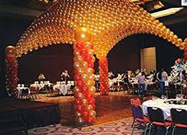 how to make a balloon arch balloon arch canopy diy deluxe professional system