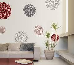 Wandgestaltung Esszimmer Ideen Wanddeko Idee Wandtattoo Blumen Freshouse