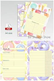printable recipe cards template blank recipe cards for kids fun printable recipe pages for kids