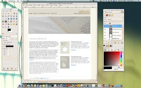 gimp design budget mac web design software image editors reality