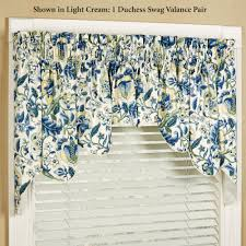 Waverly Valances Sale Regency Floral Duchess Swag Valance Pair By Waverly