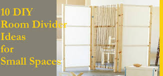 Small Room Divider 10 Diy Room Divider Ideas For Small Spaces Icraftopia