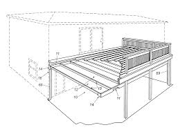 Southeastern Underdeck Systems by Patent Us6226941 Undercover Deck Drainage System Google Patents