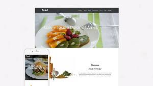 free restaurant responsive bootstrap html5 template food html5load