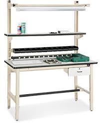 Work Bench Table Static Table Anti Static Work Bench In Stock Uline