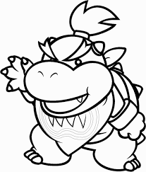 bowser jr coloring pages bowser jr coloring pages print coloring