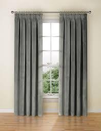 How To Fit Pencil Pleat Curtains Velvet Pencil Pleat Curtain M U0026s