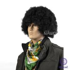 curly halloween wigs online shop newest fashion male cosplay wig black afro ball fans