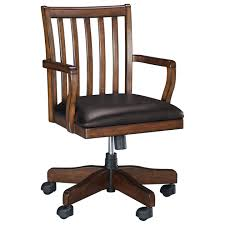 Ashley Desks Home Office by Home Office Swivel Desk Chair With Slat Back By Signature Design