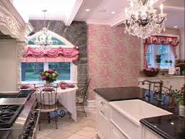 pink kitchen ideas pink girly kitchen wallpaper interior exterior doors