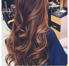 partial red highlights on dark brown hair 40 hottest hair color ideas for 2018 brown red blonde