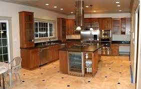 arranging kitchen with kitchen floor tiles