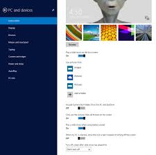 lock screen slide show turn on or off in windows 8 1