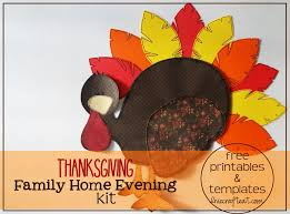 thanksgiving family home evening kit free printables free